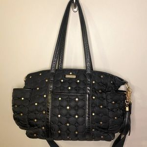 """Rebecca Minkoff """"Marissa"""" Studded Quilted Baby Bag"""